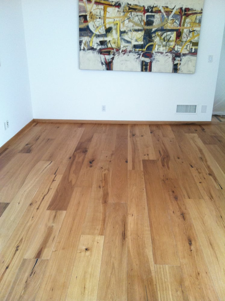 Du Chateau Hardwood floors professionally installed with