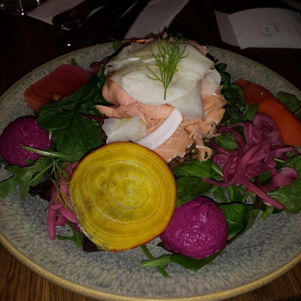 Pascal - Stockholm, Sweden. Fantastisk sallad med smakerna på rätta stället