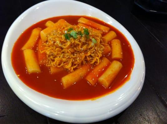 Rapoki appetizer  ddukbokki with ramen noodles  Yelp