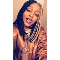 Shoulder length box braids by Mammy! - Yelp
