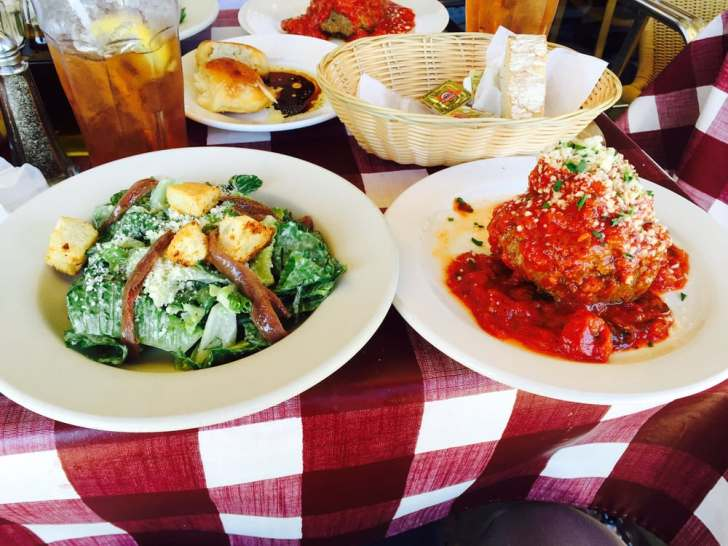 Lorna Italian Kitchen San Diego United States Some Lunch
