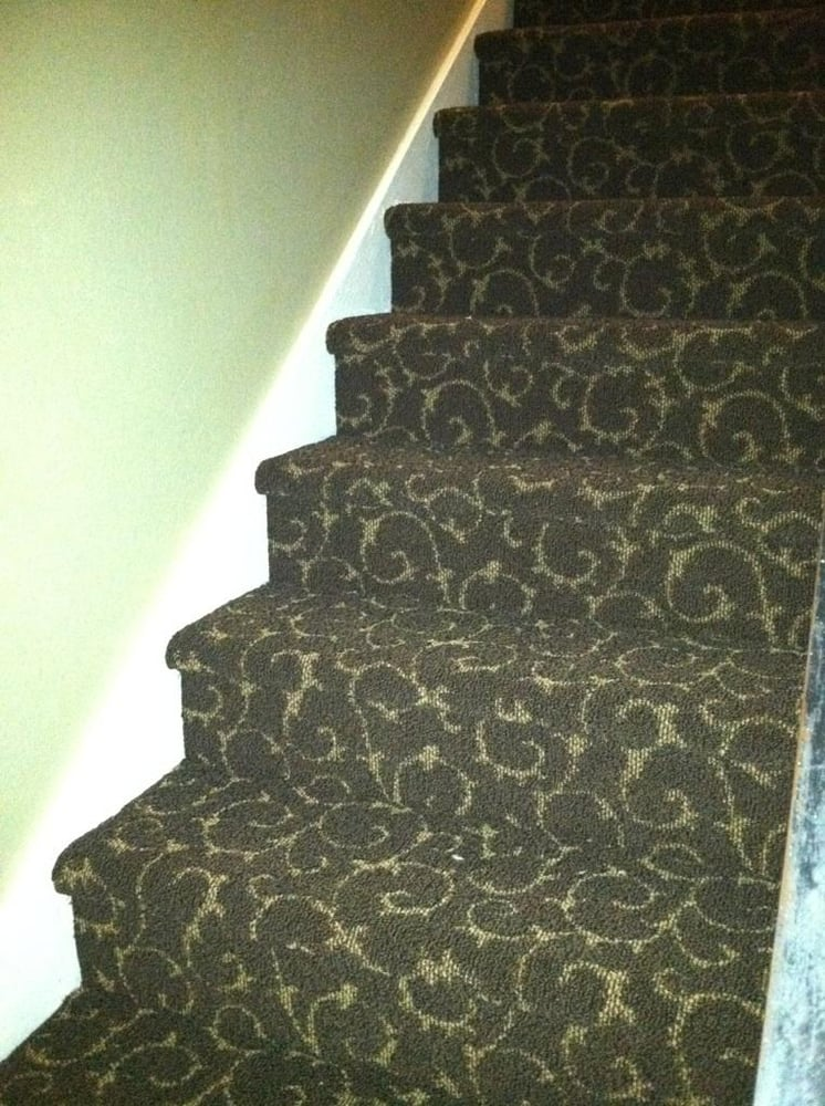 Gorgeous Patterned Carpet On Stairs Yelp