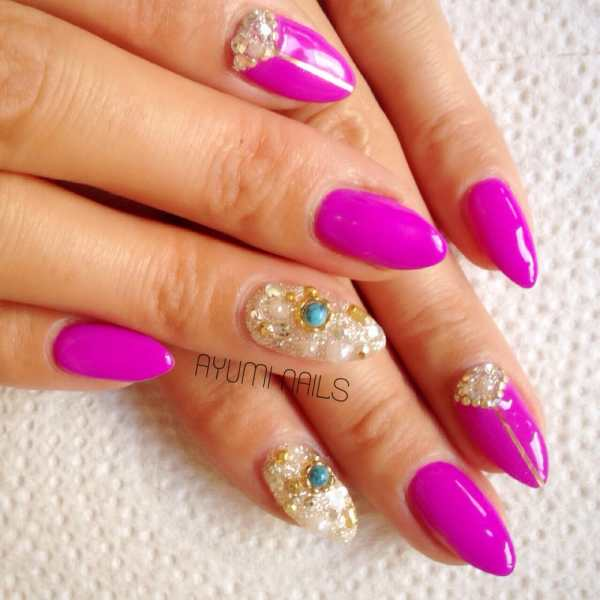 Miami Beach Nail Design