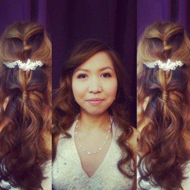 bridal hair and makeup. - yelp