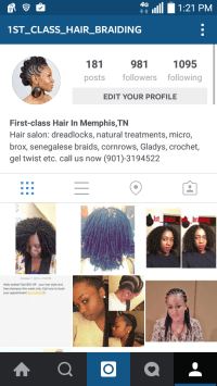 Hair Braiding In Memphis Tn Near 38125