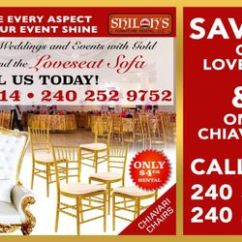 Chair Cover Rentals Baltimore Md Double Rocker Cushions Top 10 Best Chiavari In Last Updated Shiloh S Furniture Rental