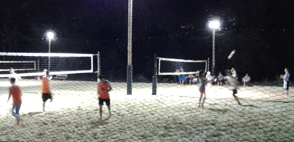 Outdoor Night Volleyball Yelp