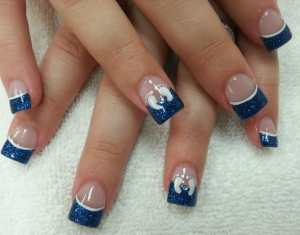 Baby Shower Nails Boy