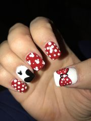 disney themed nails talented