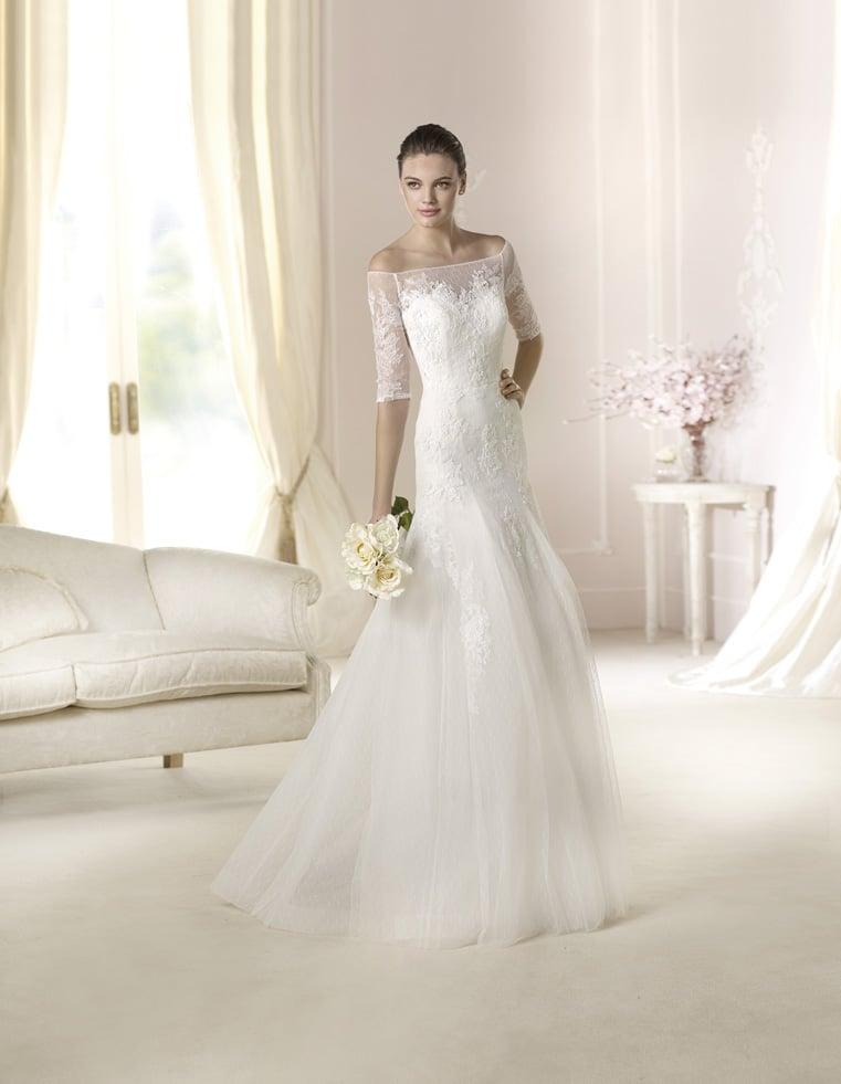 White One Brautkleider Der Pronovias Fashion Groupe Kollektion