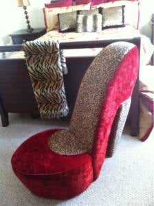 leopard high heel chair peg perego siesta review red rental yelp photo of dancepolerental margate fl united states