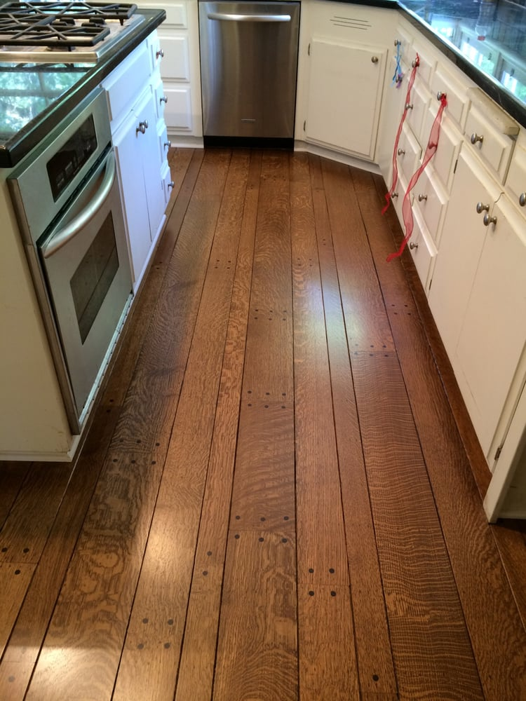 Sand Amp Refinish Rift Quarter Sawn Red Oak With Provincial