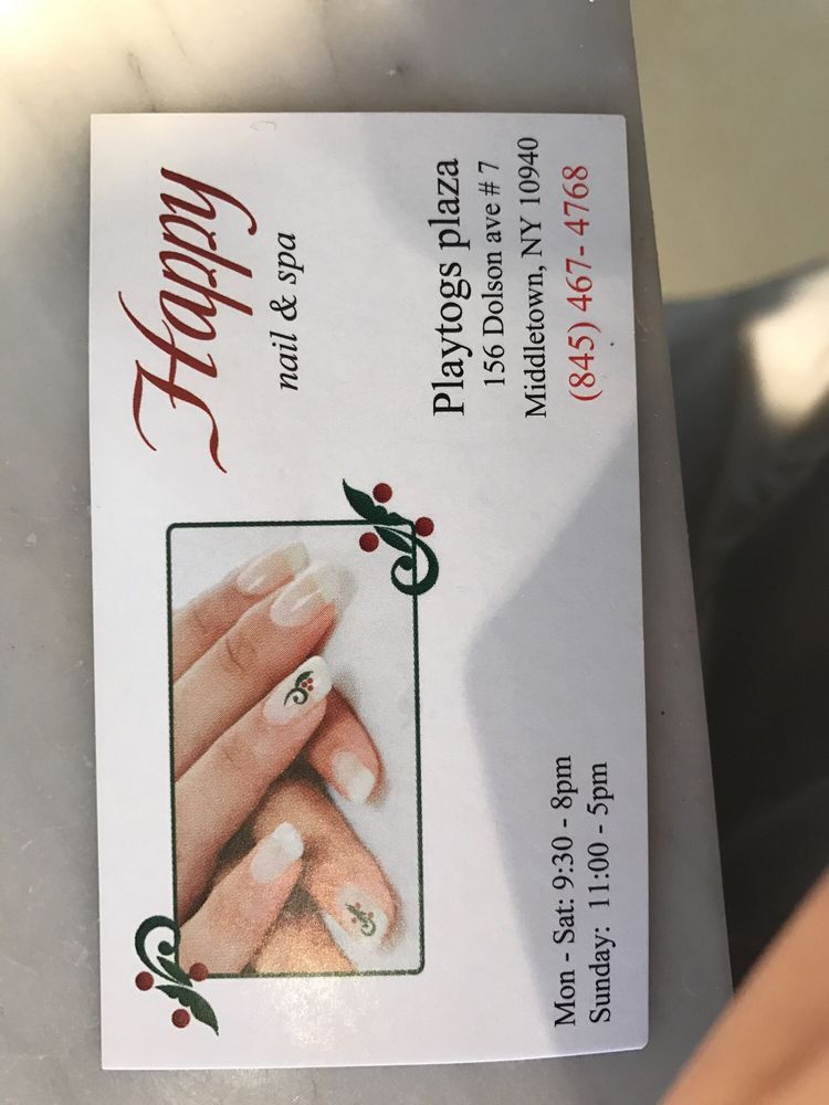 Happy Nails Middletown Ny : happy, nails, middletown, Happy, Middletown,, Giftly