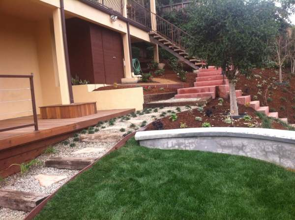 glassell park water saving landscaping
