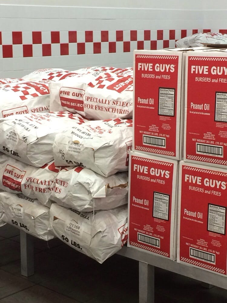 five guys 2019 all
