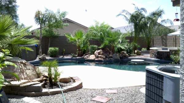 arizona backyard landscape design