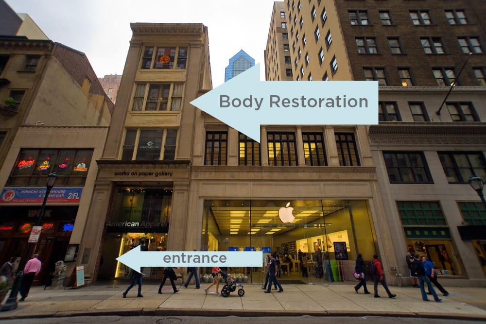 Body Restoration Spa Rittenhouse Square Philadelphia