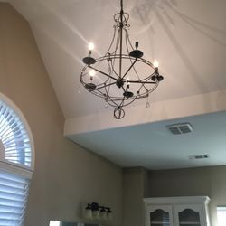 Photo Of 24 7 Electrical Services Richland Hills Tx United States Chandelier Installation