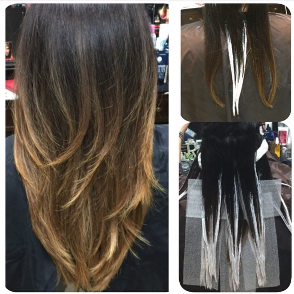 Balayage Is A French Word Meaning To Sweep Or To Paint It