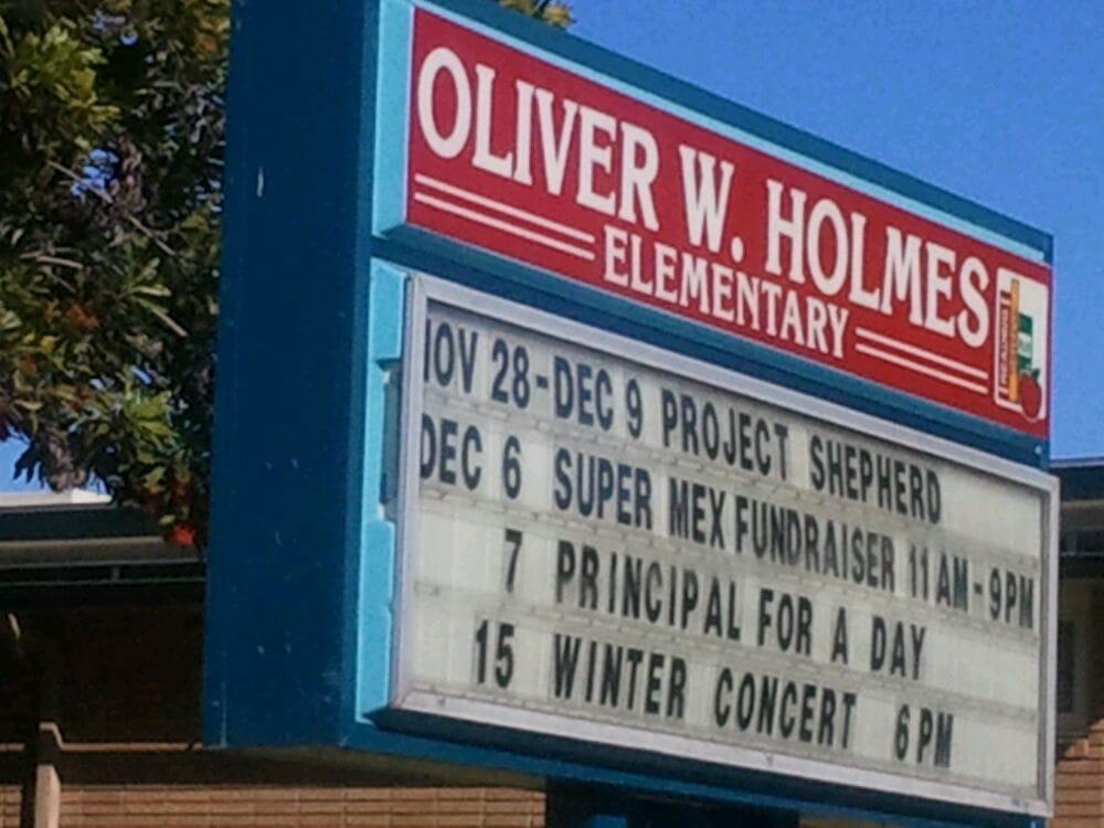 Holmes Oliver Wendell Elementary School  Elementary