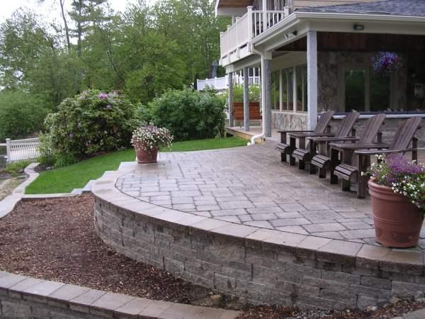 hardscape design services patios