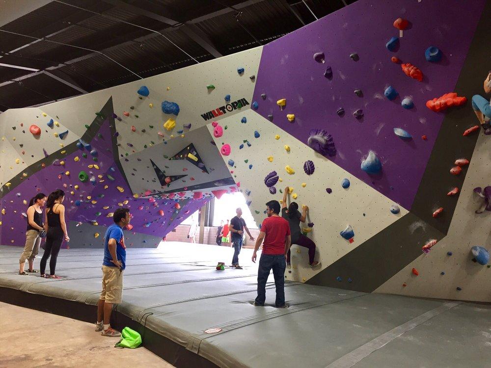 Rock Wall Home Climbing Gym