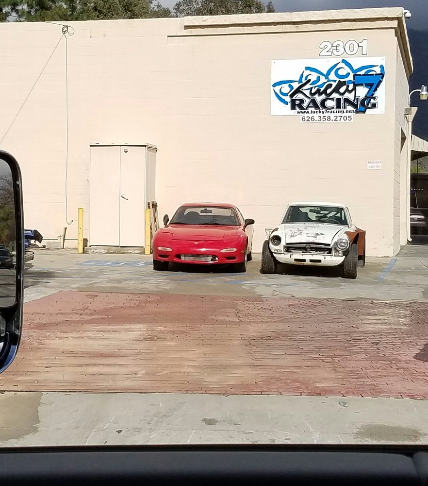 hight resolution of lucky 7 racing 119 photos 27 reviews auto repair 2301 central ave duarte ca phone number yelp
