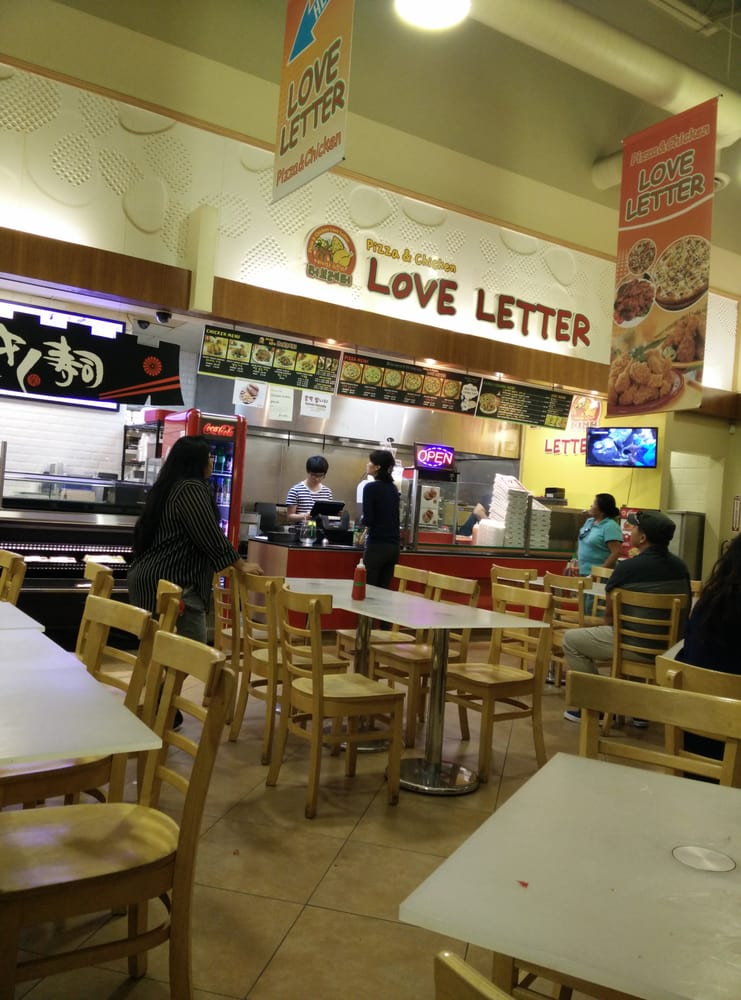 Inside the Hmart food court. - Yelp
