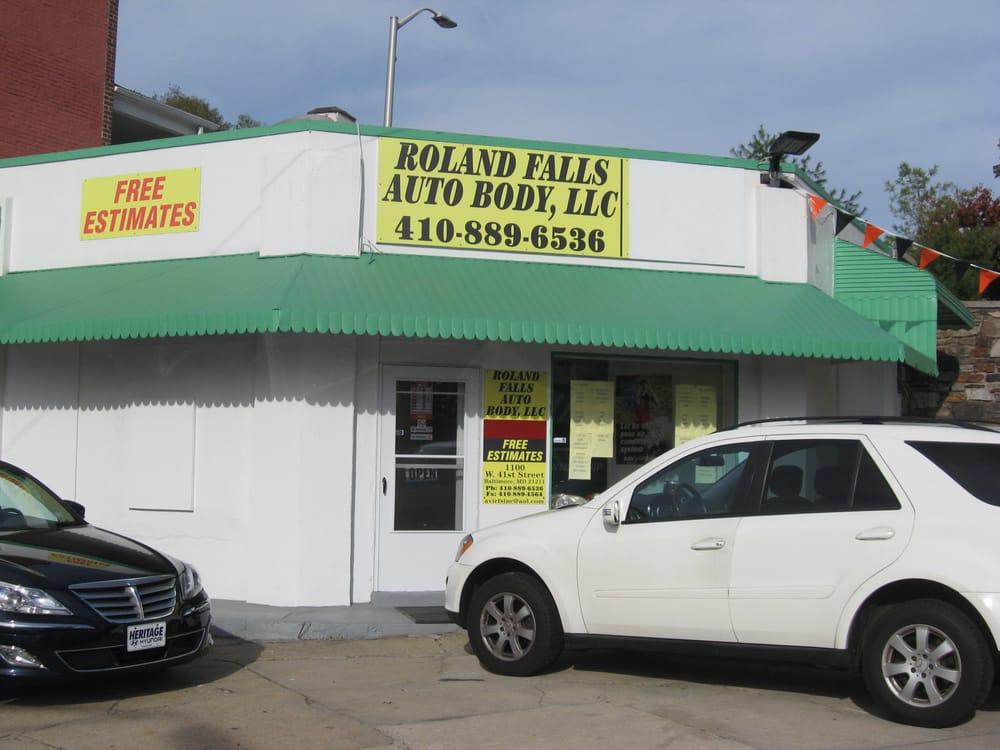 Roland Falls Auto Repair  20 Photos  Body Shops  1100 W