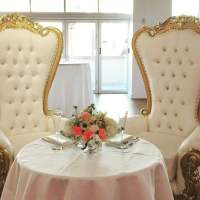 Sweetheart Table with King & Queen Throne Chairs - Yelp