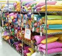 Wide selection of traditional Korean neck pillows in