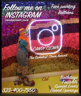 candy clown 608 n