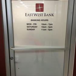 East West Bank  Banks  Credit Unions  6450 Sepulveda