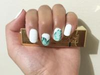 Banana leaf nail art - Yelp