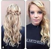military ball hairstyles long