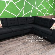 los angeles sofas two tone bonded leather sofa set 34 photos furniture stores 1100 wall st photo of ca united states