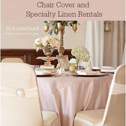 chair cover and tablecloth rentals bath for baby special occasions linen rental party supplies 7413 photo of grand blanc mi united