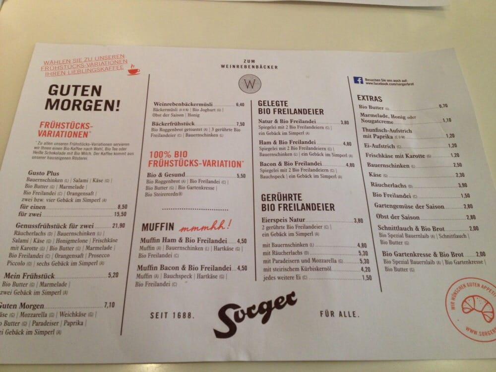 Bckerei Konditorei Sorger  Bakeries  Jakominiplatz 21