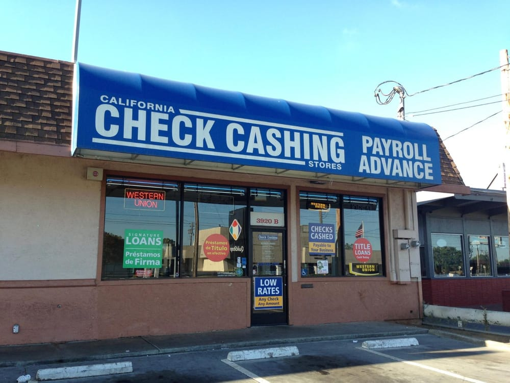 California Check Cashing Stores  Check CashingPayday