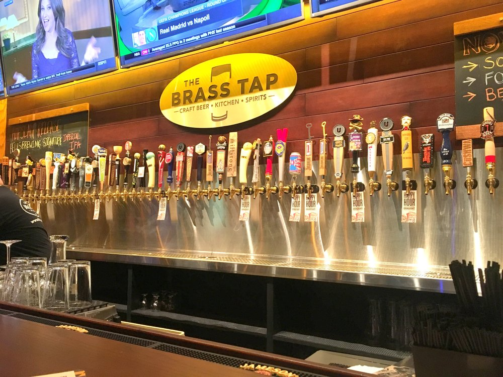 The Brass Tap on draught  Yelp