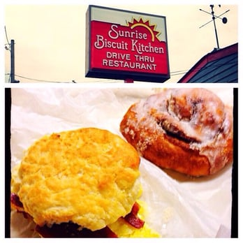 Sunrise Biscuit Kitchen Chapel Hill United States Egg Bacon