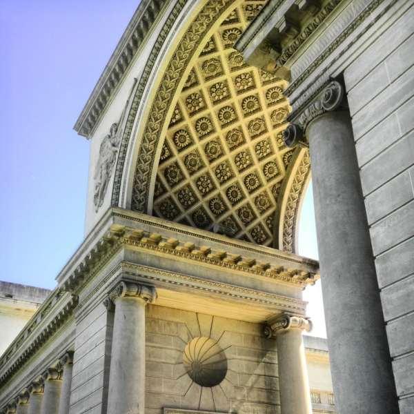 Beautiful Detail Adorns Entire Building