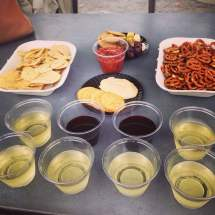 Barefoot Wine Tasting Clinton' Dish. Great Time