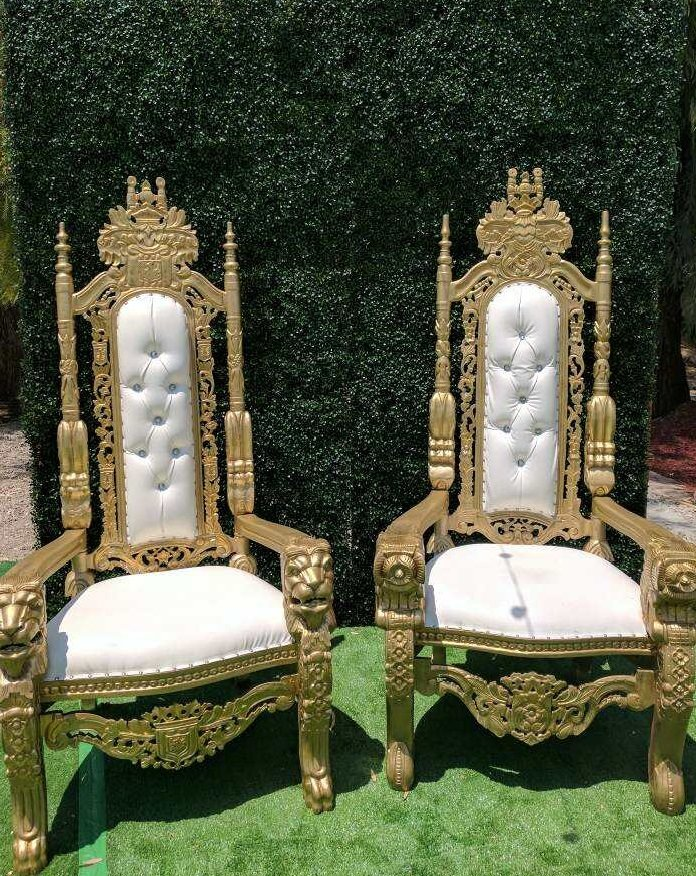 kings chair for sale rocking metal frame king and queen bride groom throne rental los photo of chairs montebello ca united states