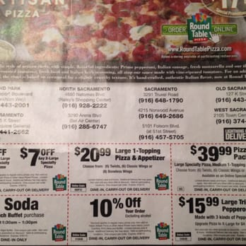 picture relating to Round Table Pizza Printable Coupons referred to as Spherical Desk Pizza Printable Coupon codes Ground breaking Espresso Tables And