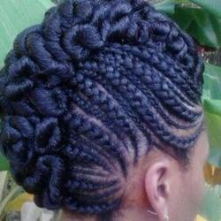 Photo Of Jabu S Hair Salon Conyers Ga United States Mohawk Cornrows