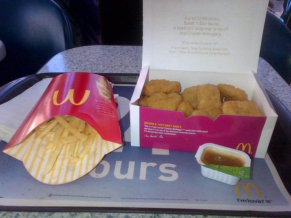 Fast Food Open Near Me