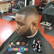 fade and beard donald long