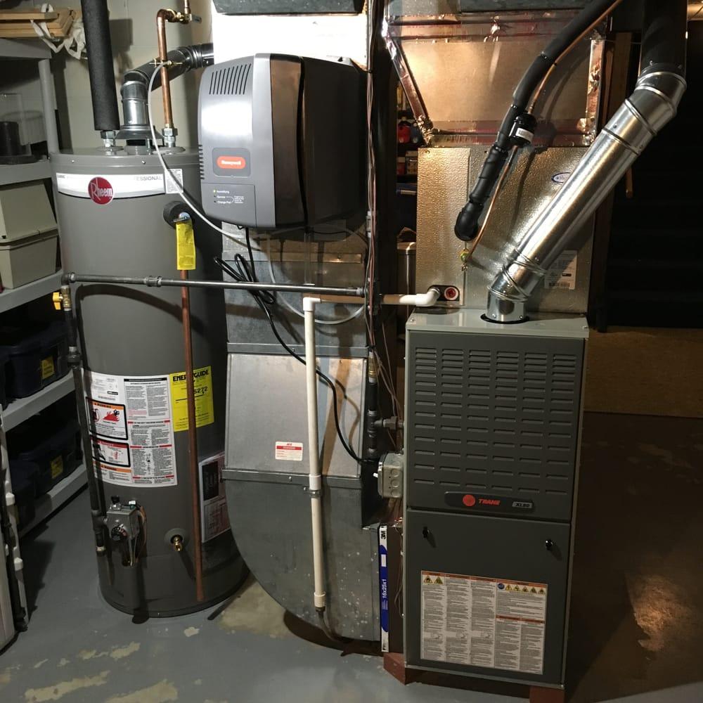 50 gallon Rheem water heater, Honeywell whole