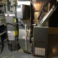 50 gallon Rheem water heater, Honeywell whole-house ...